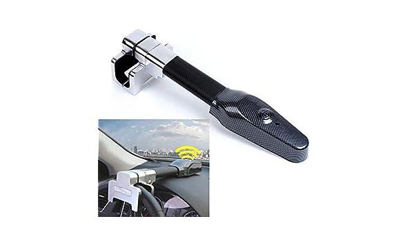 Xljh Coche Volante Bloqueo Anti Robo Auto Defensa Manillar Seguridad Embrague cerradurasProtección antirrobo del Volante con Advertencia de Verano: ...