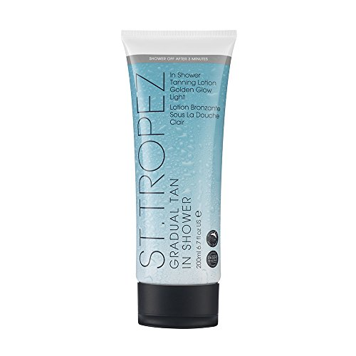 ST. TROPEZ Gradual Tan In Shower Lotion Light (Best Smelling Gradual Self Tanner)