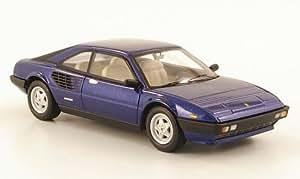 Ferrari Mondial 8, azul metálico (Elite) , Modelo de Auto, modello completo, Mattel Elite 1:43