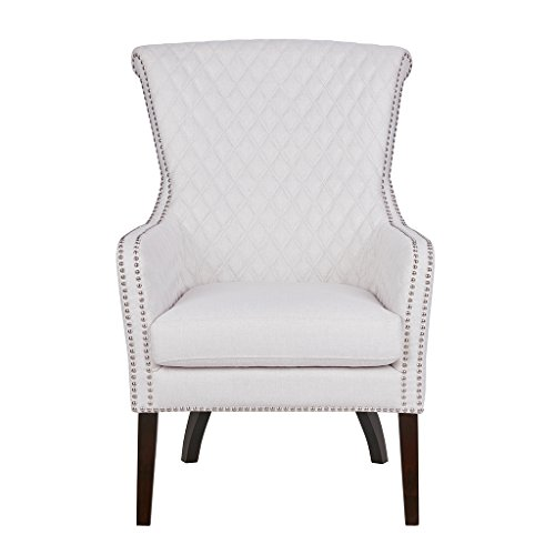 Madison Park Heston Accent Chair Natural/Morocco See Below