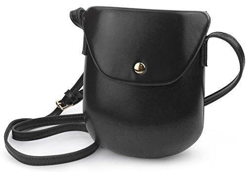 Bag Girl Cross Purse for Saddle Vintage Mini Black Body z0IAx