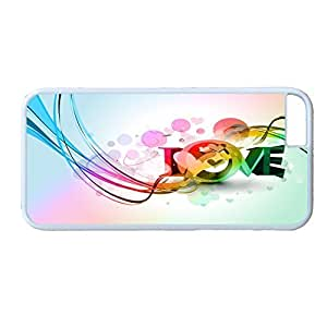 Andre-case ZENDOOP iPhone 6plus 5.5 case cover with Design of Colorful Rainbow Love Wallpaper N4jeTgM3PAn Pattern - Rainbow Color Serie