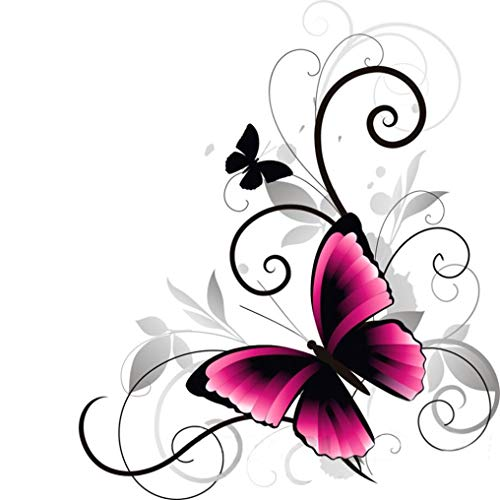 Amazon Com Diy 5d Diamond Painting Dartphew Pink Butterfly
