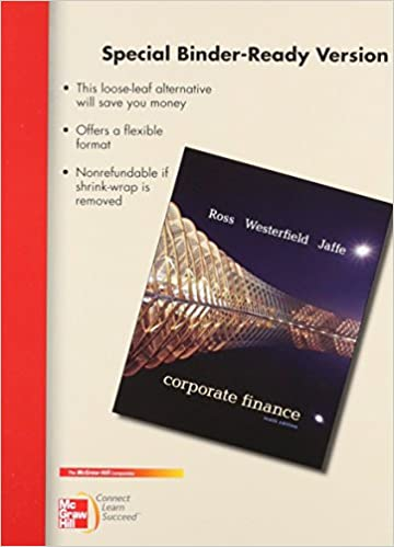 Corporate Finance Ross Westerfield Jaffe 9th Edition Pdf