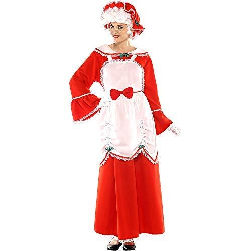 Mrs. Claus Deluxe Costume - Plus (18-20) ()