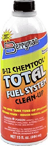 Berryman 2616 B-12 Chemtool Total Fuel System Clean-up, 15 oz. Easy Pour-in Metal Can