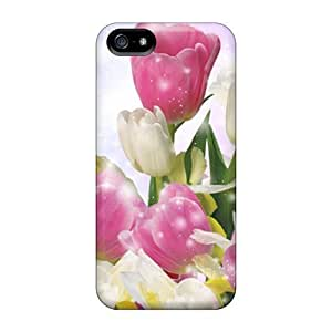 Waterdrop Snap-on Burst Of Spring Colors Cases For Ipod Touch 5