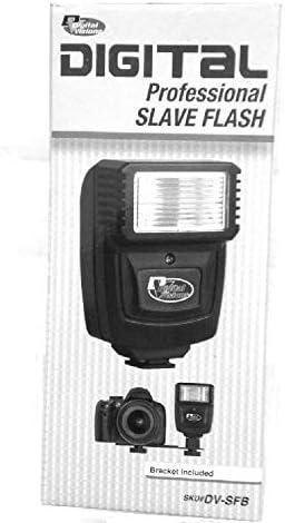 Digital Slave Flash With Bracket For The Sony NEX-5N Digital DSLR Camera