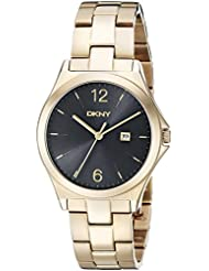 DKNY Womens NY2366 PARSONS Gold Watch
