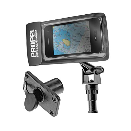 Shoreline Marine Propel Canoe & Kayak Universal GPS and Phone Mount, Black by Shoreline Marine