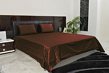 Exclusive Collection 4PC Sheet Set 2100 Thread Count Olympic Queen 100%  Microfiber Polyester Chocolate Solid