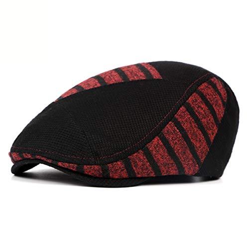 Gorra Moda Invierno Delantero para Sombreros Hombre de Sombrero otoño A GLLH Mujer qin Sombrero de Bailey e hat para D q7wq0vxB