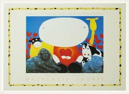 ポスター マッケンジー ソープ Celebration 額装品 ウッドベーシックフレーム(ホワイト) B00LCUF5SE ホワイト ホワイト
