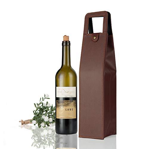 leather wine bag - 7