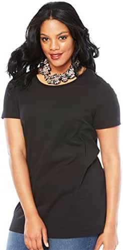 Ultimate Tee Women's Plus Size Crew Neck Ultimate Tee