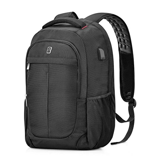 Laptop Backpack, Sosoon Business Travel Anti-Theft Casual Backpack with USB...