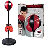 """Liberty Imports Sport Boxing Punching Bag With Gloves Punching Ball for Kids 43"""""""