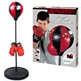 Liberty Imports Sport Boxing Punching Bag With Gloves Punching Ball for Kids 43'