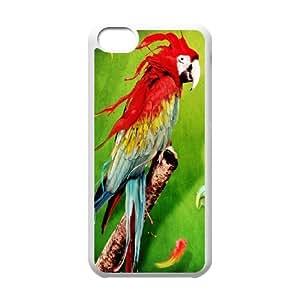 iPhone 5c Cell Phone Case White Parror Splash GY9270251