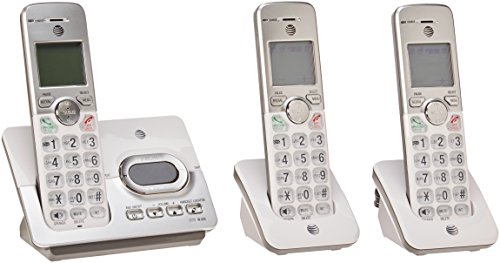 (AT&T EL52303 3 Handset Cordless Answering System with Caller ID/Call Waiting)