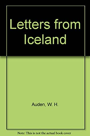 book cover of Letters from Iceland