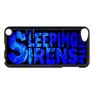 Gators Florida USA Music Band Series-5 Sleeping With Sirens Print Black Case With Hard Shell Cover for iPod Touch 5th