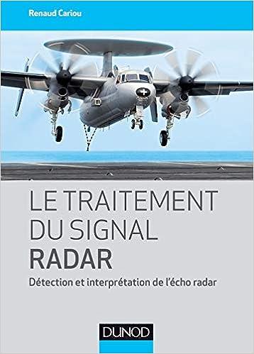couverture du livre Le traitement du signal radar