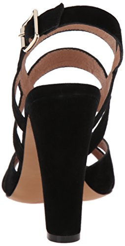 Steven by Steve Madden cassndra vestido sandalias de la mujer Black Suede