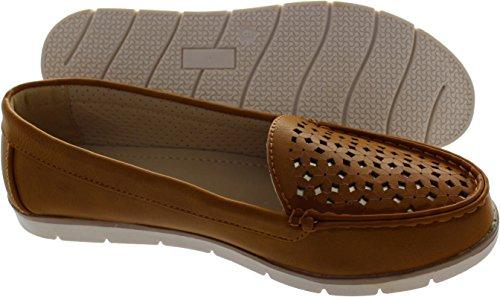 Mocassins Hommes Cuir Printemps Ete Leger Mode Plat Chaussures WYS-XZ078Bleu38 oNXi2t