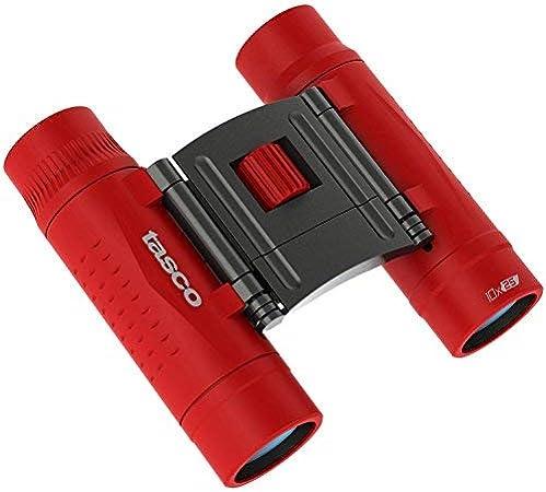 Tasco Essentials 2016 Fernglas Rot 10x25 Kamera