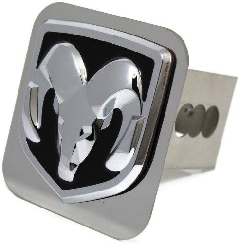Dodge Ram chrom Metall Abdeckung f/ür Anh/ängerkupplung 5,1/cm Anh/ängerkupplung Empf/änger Spiegel Mopar