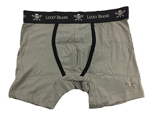 ffec9b22573b Lucky Brand Black Label Men's 3 Pack Stretch Boxer Briefs (LU1016) Black /Stripe