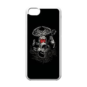 iPhone 5c Cell Phone Case White La Cucaracha UCT Silicone Phone Cases