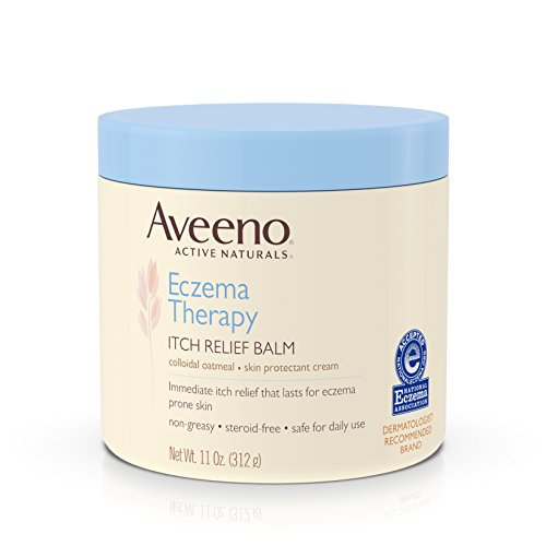 Aveeno Active Naturals Eczema Therapy Itch Relief Balm, 11oz
