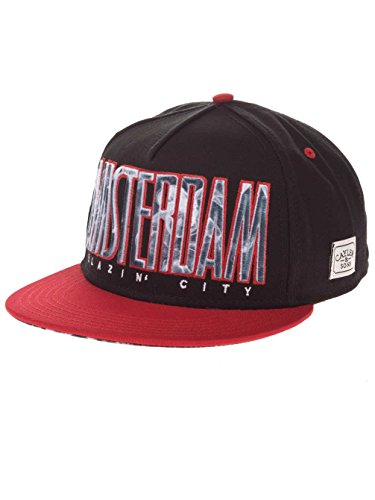 Sons Cayler and Smoke Red Blazin City Cap Black Az54wq6zPx