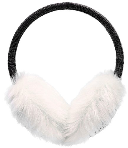 Simplicity Women's Winter Knit Solid / Snowflake Deer Pattern Earmuffs