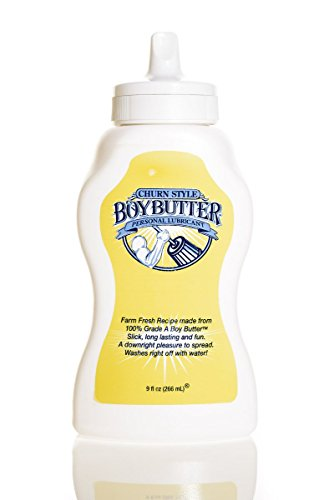 Boy Butter Original Formula 9 oz (Squeeze Bottle) by Boy Butter