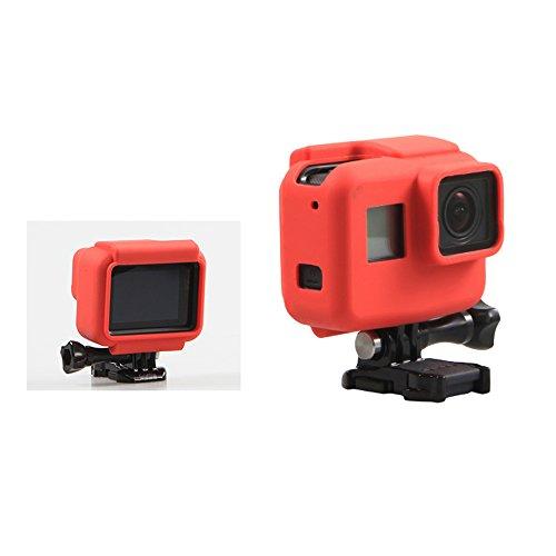 Schutzhülle Tasche Abdeckung Hülle Soft Silikon für GoPro Hero 5 Black Rot jo9CUdU66