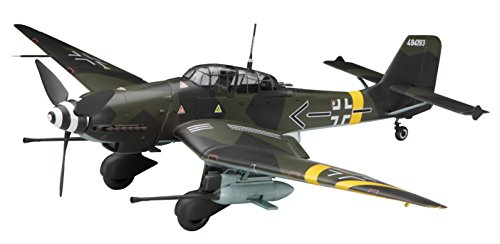 Junkers Ju87G Stuka Kanonenvogel German Anti-Tank Attacker w/Figures 1/32 Hasegawa