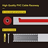 Cable Raceway Kit, Open Slot Wiring Raceway