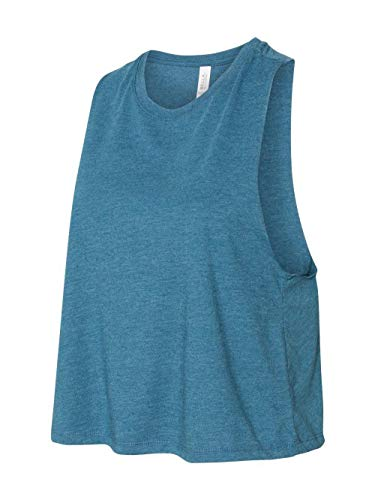 Bella + Canvas. Heather Deep Teal. 2XL. 6682. ()