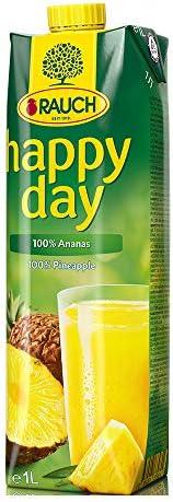 jugo de piña Feliz Día 100%, sin adición de azúcar, Tetra - 1L