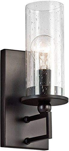 Kichler 42126OZ Kayde 1-Light Wall Bracket, Olde Bronze by Kichler Lighting
