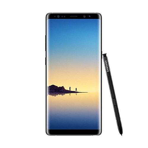 """Samsung Galaxy Note8 - Smartphone Libre de 6.3"""" (Android, 4G, WiFi, Bluetooth, Exynos 8895 Octacore 2.3 GHz + 1.7 GHz, 6 GB de RAM, cámara Dual de 12 MP, Dual-SIM, 64 GB) [Versión española] Negro"""