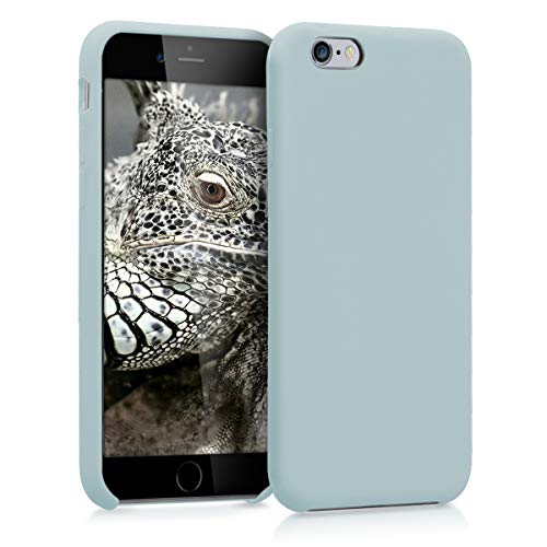 kwmobile TPU Silicone Case for Apple iPhone 6 / 6S - Soft Flexible Rubber Protective Cover - Grey