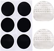 VABNEER 12 Pieces Bicycle Tyre Patches Bicycle Rubber Patch Bike Patches Repair Kit for Bicycles, Mountain Bik