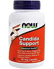 Now Foods, Candida Support, 90 Veg Capsules