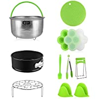 Te-Rich 10 Pieces Pressure Cooker Accessories Compatible with Instant Pot