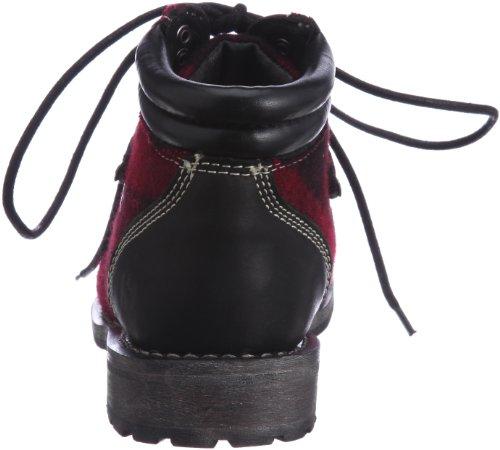 Botines - 4365-tweedu Red-Black