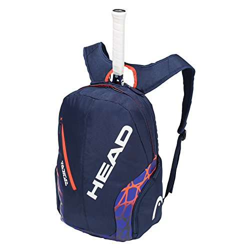 HEAD Radical Rebel Tennis Backpack, Blue/Orange